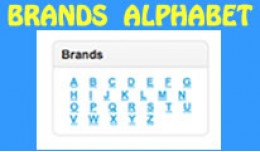 Brands Alphabet