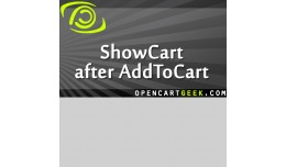 ShowCart after AddToCart