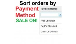 Sort orders by Payment Method