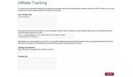 Affiliate Homepage Tracking