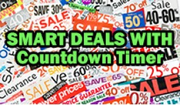 Limited offer / Smart Special Countdown timer mo..