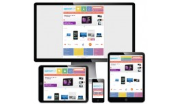Metro responsive theme (with RTL language support)