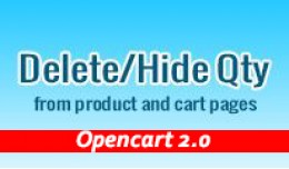 Delete/Hide Qty from product page and cart page