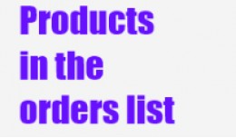 [VQMOD] Products in the order list