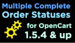 Multiple Complete Order Statuses