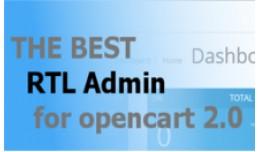 RTL Admin opencart 2.X