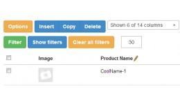 Product List/Filter, INLINE EDIT FREE(VQMOD) - B..
