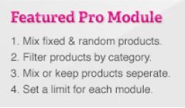 Featured Pro Module