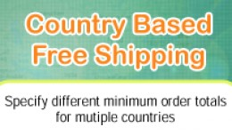 Country Based Free Shipping