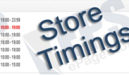 Store Timings