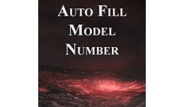 Auto Fill Model Number