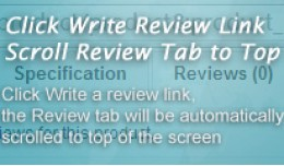 Scroll Review Tab to Top On Product Page