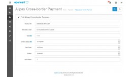 Alipay Cross-border Website Payment (支付宝�..
