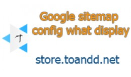 Google Sitemap Setting