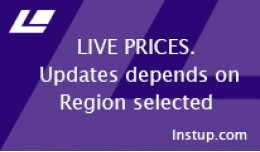 Live prices depends Region selected