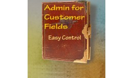 Admin for Customer Fields / Registration / CAPTC..