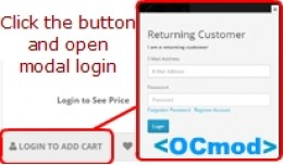 Login to Buy With Popup Login