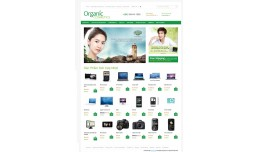 Tempalte Organic For Opencart