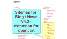Sitemap for News/Blog V4 [vQmod]