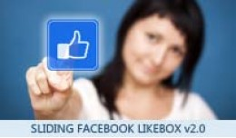 Sliding Facebook Likebox