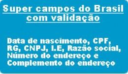 Super campos do Brasil, cpf, rg, cnpj, i.e, raz�..