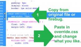 GGW vQmod Include custom CSS override highest pr..