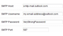 Mail SMTP TLS Outlook.com fix