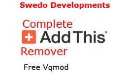 Addthis Remover complete