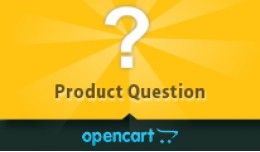 Opencart Product Question
