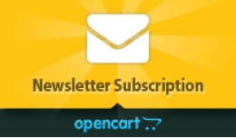 Opencart Newsletter Subscription