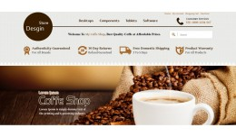 Coffe Shop Theme