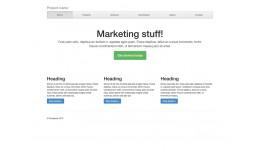Bootstrap 3 Starter theme (free)