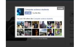 Opencart Facebook Popup Like Box