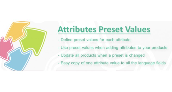 Attributes Preset Values