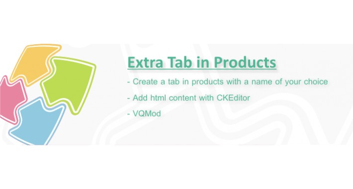 Extra Tab in Products