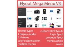 FlyOut Mega Menu V3