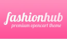 Fashion Hub Opencart Premium Theme in Pink Color
