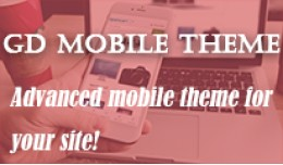 GD - Mobile Theme