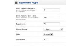 Supplemento Paypal