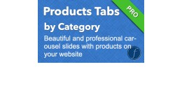 Product Tabs By Category