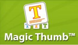 Magic Thumb - image lightbox & product video..