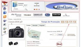 Produto - Tempo promoção - Product Time CountD..