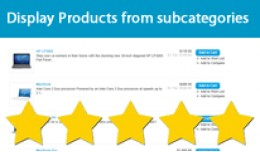 Display Products from subcategories within main ..