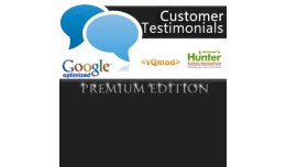 Premium Customer Testimonials - Google SEO Optim..