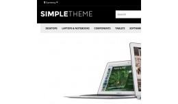 SimpleTheme BLACK - OpenCart 2.0