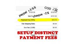 Payments Fee: a fee for any payment