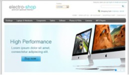 Electro Shop Responsive Opencart Theme