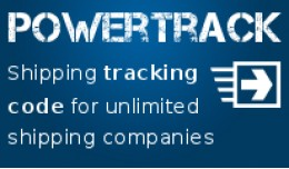 ✔ Powertrack: Add shipping tracking code for a..