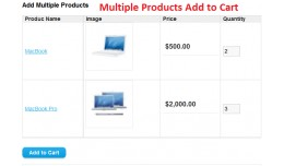 Multiple AddToCart for Related product on Produc..