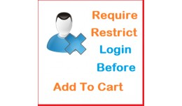 Restrict / Required login before Add to cart